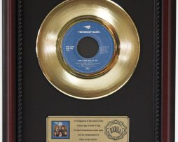 MOODY-BLUES-THE-OTHER-SIDE-OF-LIFE-GOLD-RECORD-FRAMED-CHERRYWOOD-DISPLAY-K1-172204394224