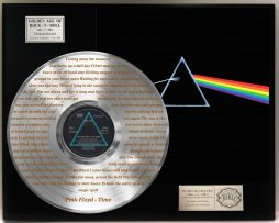 PINK-FLOYD-PLATINUM-LP-RECORD-DISPLAY-ETCHED-W-LYRICS-TO-TIME-171386608334