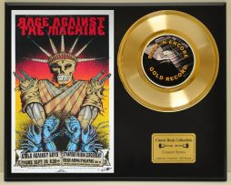 RAGE-AGAINST-THE-MACHINE-LTD-EDITION-CONCERT-POSTER-SERIES-GOLD-45-DISPLAY-171347862104