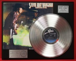 STEVIE-RAY-VAUGHAN-PLATINUM-LP-LTD-EDITION-RECORD-DISPLAY-AWARD-QUALITY-170927847554