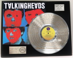 TALKING-HEADS-PLATINUM-LP-RECORD-DISPLAY-ETCHED-W-LYRICS-TO-CROSSEYED-PAINLESS-171386623134