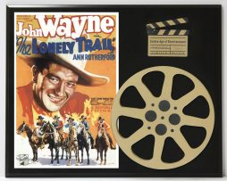THE-LONELY-TRAIL-WITH-JOHN-WAYNE-LIMITED-EDITION-MOVIE-REEL-DISPLAY-172244907994