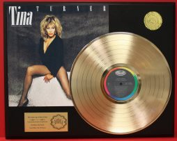 TINA-TURNER-GOLD-LP-RECORD-DISPLAY-ACTUALLY-PLAYS-THE-SONG-PRIVATE-DANCER-181112640424