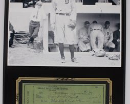 TY-COBB-BASEBALL-GREAT-REPRODUCTION-SIGNED-LIMITED-EDITION-CHECK-DISPLAY-172232763364