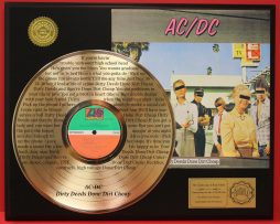 ACDC-GOLD-LP-RECORD-LASER-ETCHED-WITH-LYRICS-PLAYS-SONG-DIRTY-DEEDS-AWARD-181108530105