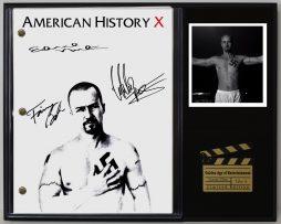 AMERICAN-HISTORY-X-LTD-EDITION-REPRODUCTION-MOVIE-SCRIPT-CINEMA-DISPLAY-C3-182065217765