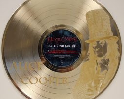 Alice-Cooper-2-Gold-Laser-Etched-Limited-Edition-12-LP-Wall-Display-Ships-Free-171298923555