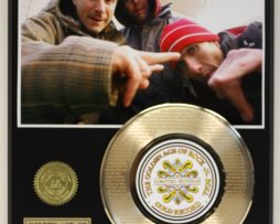 BEASTIE-BOYS-2-GOLD-RECORD-LIMITED-EDITION-LASER-ETCHED-WITH-SONGS-LYRICS-171367766485