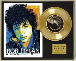 BOB-DYLAN-LTD-EDITION-CONCERT-POSTER-SERIES-GOLD-45-DISPLAY-SHIP-US-FREE-181234527415