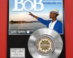 BOB-PLATINUM-RECORD-LIMITED-EDITION-RARE-COLLECTIBLE-MUSIC-AWARD-170851760525