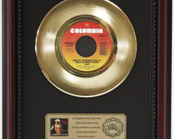 BRUCE-SPRINGSTEEN-E-STREET-GOLD-RECORD-CUSTOM-FRAMED-CHERRYWOOD-DISPLAY-K1-182089287765