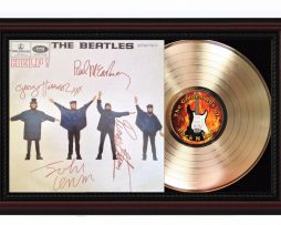 Beatles-Help-Cherrywood-Reproduction-Signature-Display-Lennon-McCartney-M4-182612737275