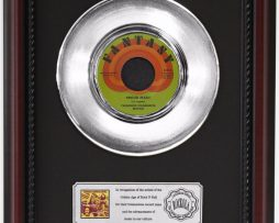 CCR-PROUD-MARY-PLATINUM-RECORD-FRAMED-CHERRYWOOD-DISPLAY-K1-182128900565
