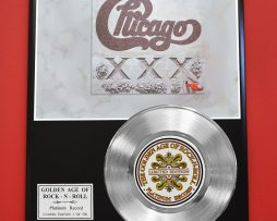 CHICAGO-PLATINUM-RECORD-LIMITED-EDITION-RARE-COLLECTIBLE-MUSIC-DISPLAY-170851831385