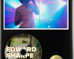EDWARD-SHARPE-AND-THE-MAGNETIC-ZEROS-LTD-EDITION-PICTURE-CD-DISC-DISPLAY-181460543985