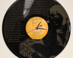 ELVIS-PRESLEY-7-LASER-ETCHED-VINYL-LP-RECORD-WALL-CLOCK-FREE-SHIPPING-181902163075