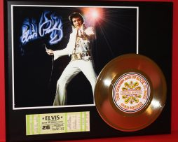 ELVIS-PRESLEY-CONCERT-TICKET-SERIES-GOLD-RECORD-LTD-EDITION-DISPLAY-171348032285
