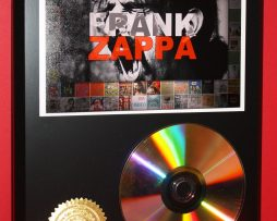 FRANK-ZAPPA-24kt-GOLD-CDDISC-COLLECTIBLE-RARE-AWARD-QUALITY-PLAQUE-GIFT-180875568755