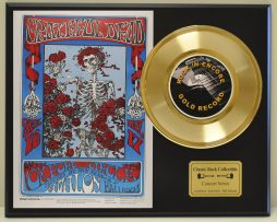 GRATEFUL-DEAD-LTD-EDITION-CONCERT-POSTER-SERIES-GOLD-45-DISPLAY-SHIPS-US-FREE-181234576795