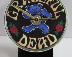 GRATEFUL-DEAD-PICTURE-CD-DESK-CLOCK-WITH-BLACK-ACRYLIC-BASE-172147778825