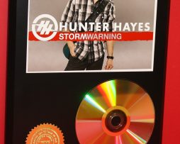 HUNTER-HAYES-LTD-EDITION-24kt-GOLD-CD-DISC-COLLECTIBLE-AWARD-QUALITY-DISPLAY-171354435575