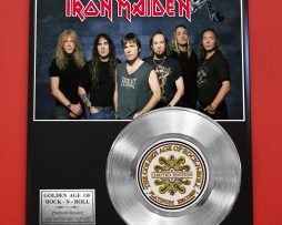 IRON-MAIDEN-PLATINUM-RECORD-LTD-EDITION-RARE-COLLECTIBLE-MUSIC-GIFT-AWARD-180913870075