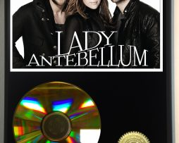 LADY-ANTEBELLUM-LIMITED-EDITION-24kt-GOLD-CD-DISPLAY-171376863335