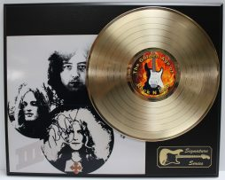 LED-ZEPPELIN-GOLD-LP-LTD-EDITION-REPRODUCTION-SIGNATURE-RECORD-DISPLAY-172048092525