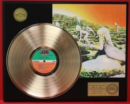 LED-ZEPPELIN-GOLD-LP-RECORD-DISPLAY-PLAYS-THE-SONG-REMAINS-THE-SAME-SHIPS-FREE-171013577795