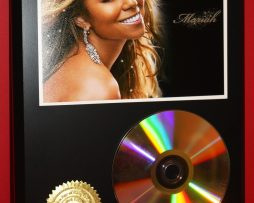 MARIAH-CAREY-24kt-GOLD-CDDISC-COLLECTIBLE-RARE-AWARD-QUALITY-PLAQUE-GIFT-180878335945