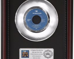 MOODY-BLUES-OTHER-SIDE-OF-LIFE-PLATINUM-FRAMED-RECORD-CHERRYWOOD-DISPLAY-K1-172204451855