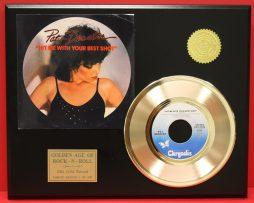 PAT-BENATAR-GOLD-45-RECORD-FREE-SHIPPING-LTD-EDITION-UNIQUE-MUSIC-GIFT-181014197325
