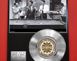 RAT-PACK-PLATINUM-RECORD-LTD-EDITION-RARE-COLLECTIBLE-MUSIC-GIFT-AWARD-180903631715