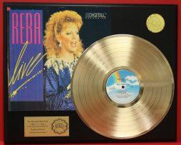 REBA-McENTIRE-GOLD-LP-LTD-EDITION-RECORD-DISPLAY-AWARD-QUALITY-COLLECTIBLE-180989953215