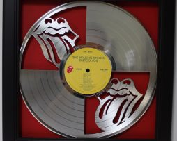 Rolling-Stones-Framed-Laser-Cut-Platinum-Vinyl-Record-in-Shadowbox-Wallart-172386644585