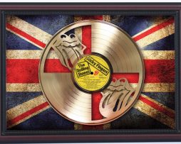 Rolling-Stones-Sticky-Fingers-Laser-Cut-Gold-Record-Flag-Display-K1-182297139285