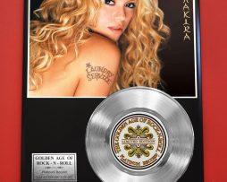 SHAKIRA-PLATINUM-RECORD-LIMITED-EDITION-MUSIC-AWARD-DISPLAY-171382070445