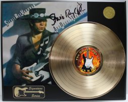 STEVIE-RAY-VAUGHAN-GOLD-LP-LTD-EDITION-REPRODUCTION-SIGNATURE-RECORD-DISPLAY-172048257685