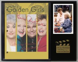 THE-GOLDEN-GIRLS-LTD-EDITION-REPRODUCTION-TELEVISION-SCRIPT-DISPLAY-C3-181753447425
