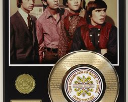 THE-MONKEES-2-HEY-HEY-GOLD-RECORD-LTD-EDITION-LASER-ETCHED-WITH-SONGS-LYRIC-181454711265