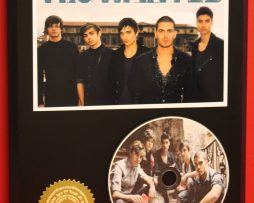 THE-WANTED-LIMITED-EDITION-PICTURE-CD-DISC-COLLECTIBLE-RARE-MUSIC-DISPLAY-171425751255