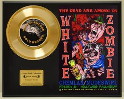 WHITE-ZOMBIE-LTD-EDITION-CONCERT-POSTER-SERIES-GOLD-45-DISPLAY-171347932245