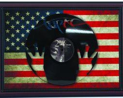2Pac-Tupac-All-Eyez-On-Me-Cherry-Frame-Laser-Cut-Black-Vinyl-Record-FlagK1-182283840796