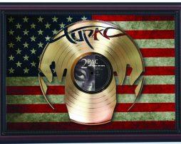 2Pac-Tupac-All-Eyez-On-Me-Cherry-Framed-Laser-Cut-Gold-Record-Flag-K1-172344590046