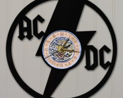ACDC-2-LASER-CUT-VINYL-LP-RECORD-WALL-CLOCK-FREE-SHIPPING-181931040156