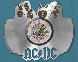 ACDC-CUSTOM-LASER-CUT-PLATINUM-PLATED-VINYL-LP-RECORD-WALL-CLOCK-FREE-SHIPPING-171998201306