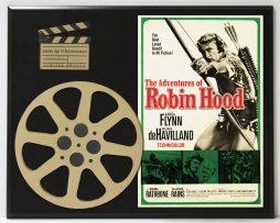 ADVENTURES-OF-ROBIN-HOOD-WITH-ERROL-FLYNN-LIMITED-EDITION-MOVIE-REEL-DISPLAY-182163636456