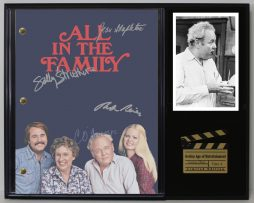 ALL-IN-THE-FAMILY-LTD-EDITION-REPRODUCTION-TELEVISION-SCRIPT-DISPLAY-C3-182162740936