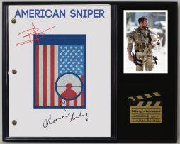 AMERICAN-SNIPER-LTD-EDITION-REPRODUCTION-MOVIE-SCRIPT-CINEMA-DISPLAY-C3-172144947196