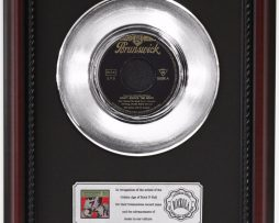 BILL-HALEY-DONT-KNOCK-THE-ROCK-PLATINUM-RECORD-FRAMED-CHERRYWOOD-DISPLAY-K1-182128883996